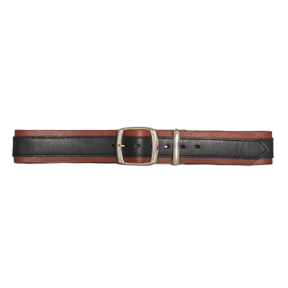 Lair Verona Belt Black on Brown