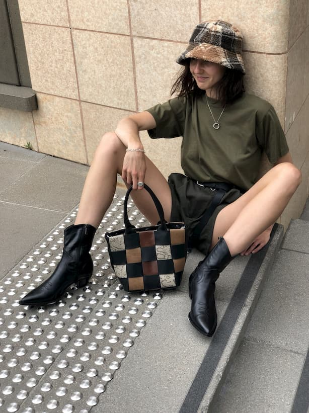girl with Lair bag