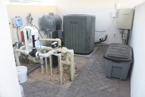 2. ELECTRICAL AND WATER SOURCES FOR A MISTING SYSTEM INSTALLATION
