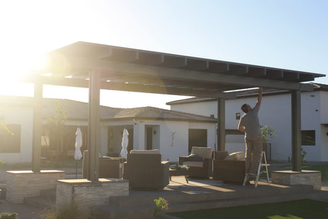 Measure the area you want to mist, whether it is at a gazebo, a patio, pool,  business or an event.
