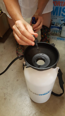 mosquito repellent misting oil