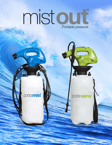 POrtable misting syste
