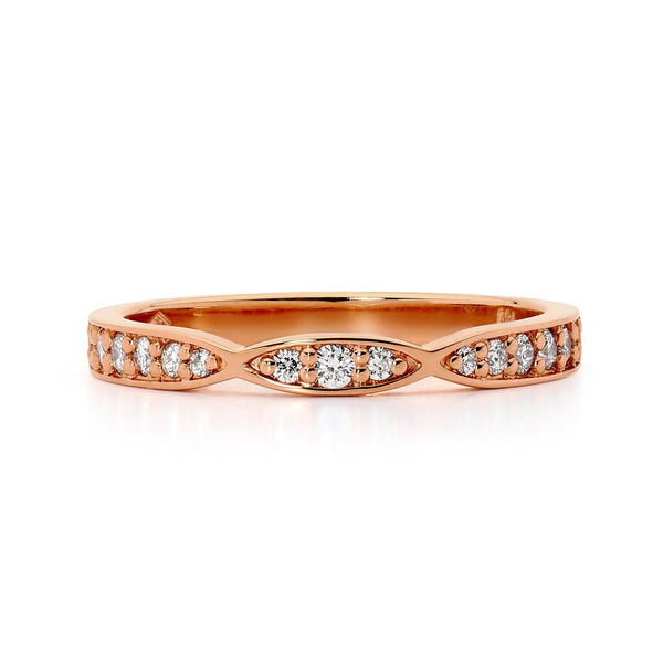 Rose Gold Wedding Rings: Display Love with Colour