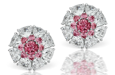 Linneys showcases world class collection of coloured diamond jewellery