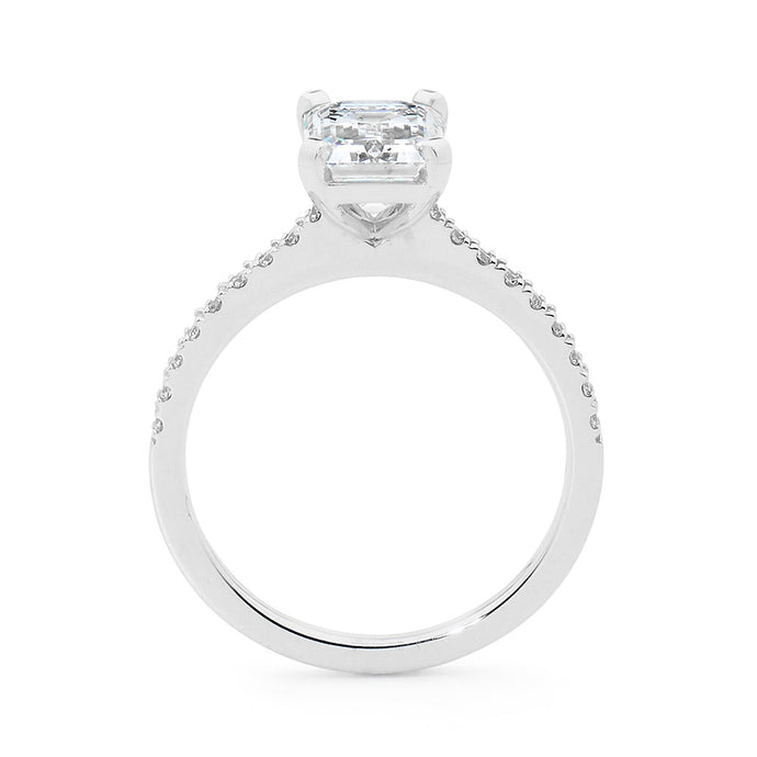 Emerald cut diamond ring online jewellery shop perth jewellery stores jewellery stores perth australian jewellery designers bridal jewellery australia diamonds perth diamond rings perth designer engagement rings engagement rings perth diamond engagement rings