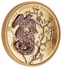 Jewelled Phoenix Coin online jewellery shop buy jewellery online jewellers in perth perth jewellery stores gold jewellery perth