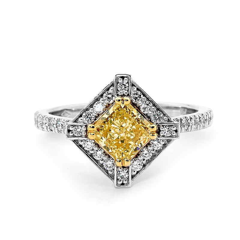 Yellow Gold Diamond Rings Perth