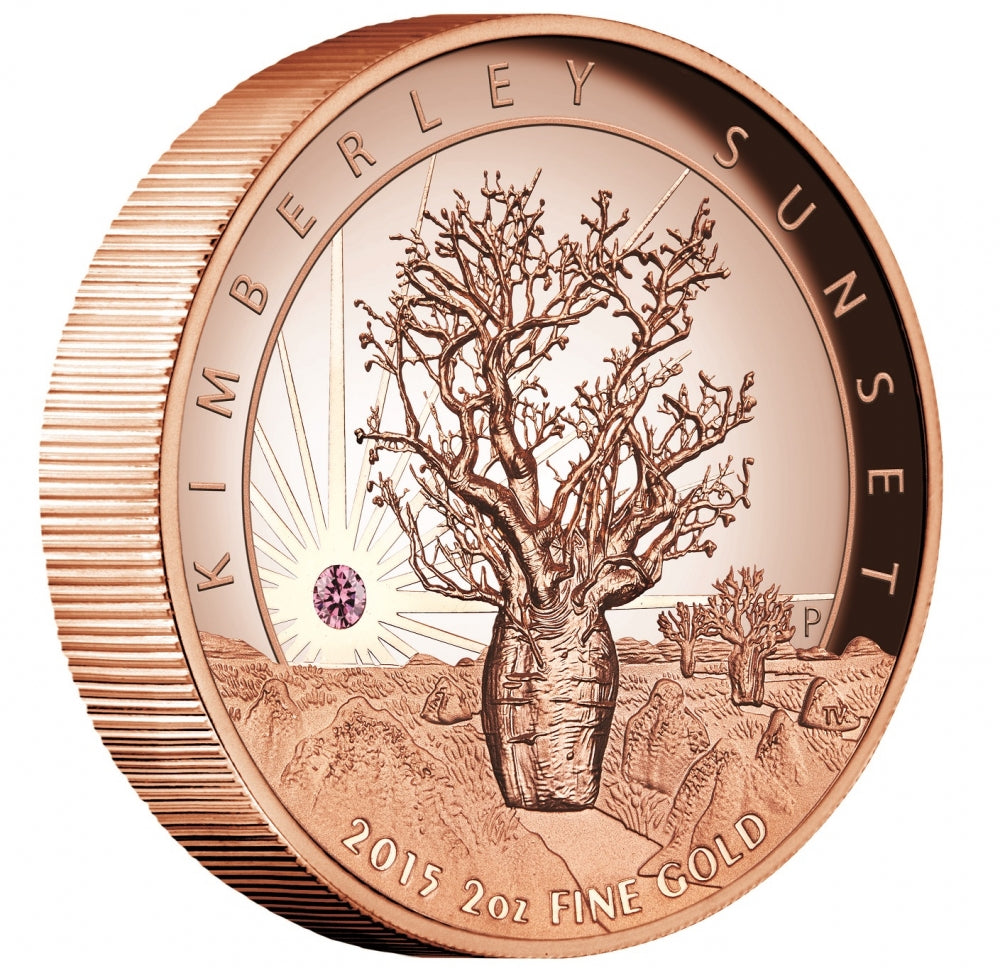 Limited Edition Kimberley Sunset Coin  online jewellery shop buy jewellery online jewellers in perth perth jewellery stores