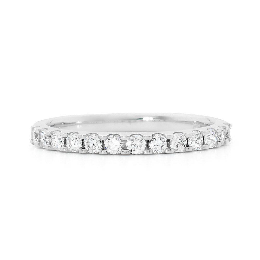 Claw Set Diamond Ring