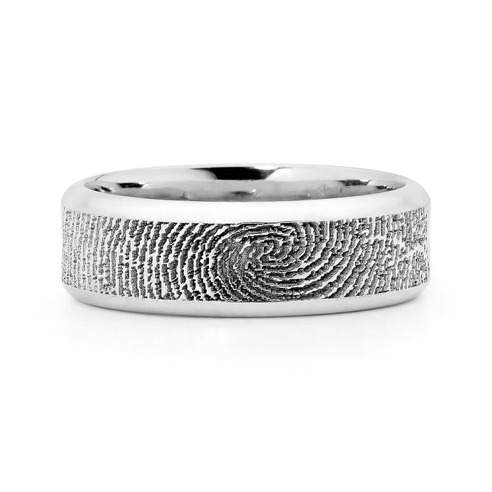 White Gold Men's Ring 18ct