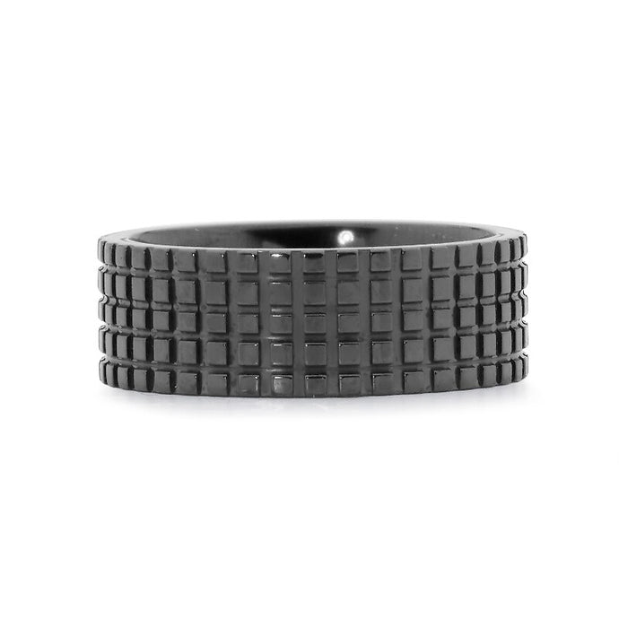 Tread Zirconium Ring