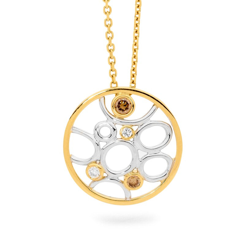 Linneys Signature Circle Pendant buy jewellery online jewellers in perth perth jewellery stores wedding jewellery australia diamonds for sale perth gold jewellery perth