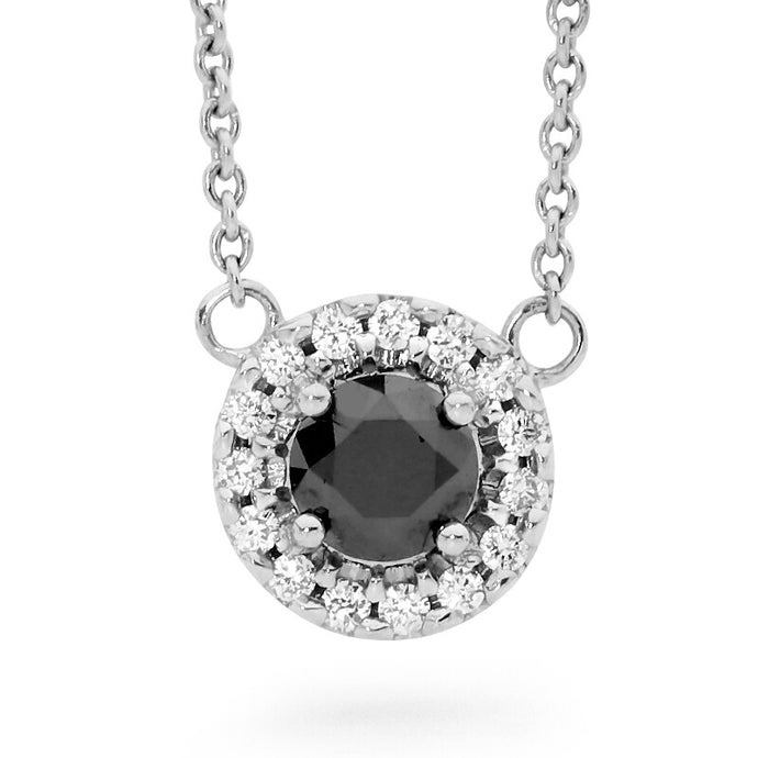 Linneys Signature Black Diamond Pendant
