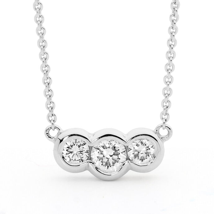 Trilogy Diamond Pendant