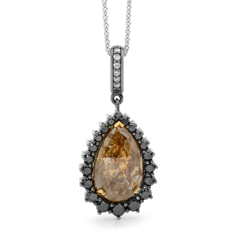 Unique Diamond Pendant