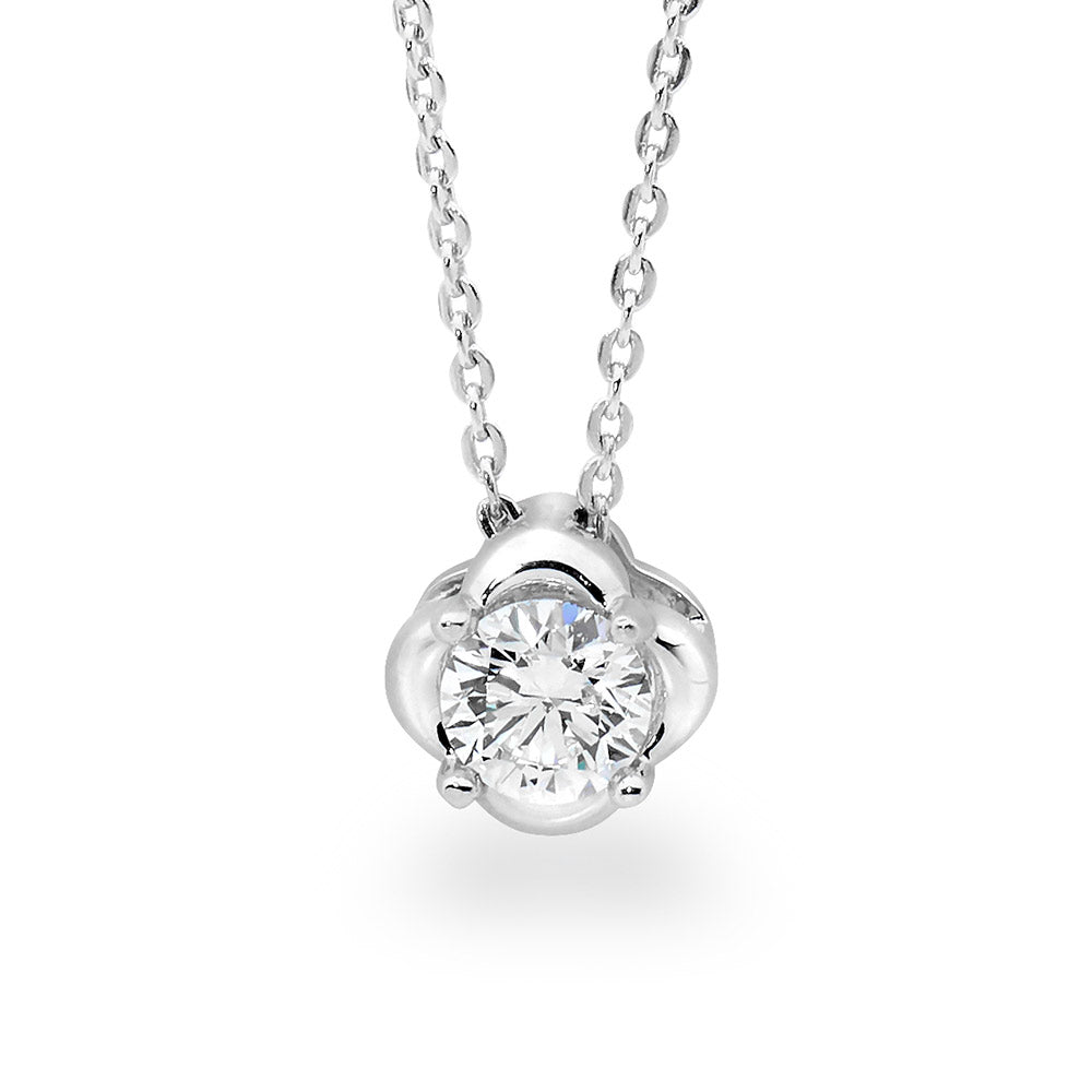 Diamond Slider Necklace