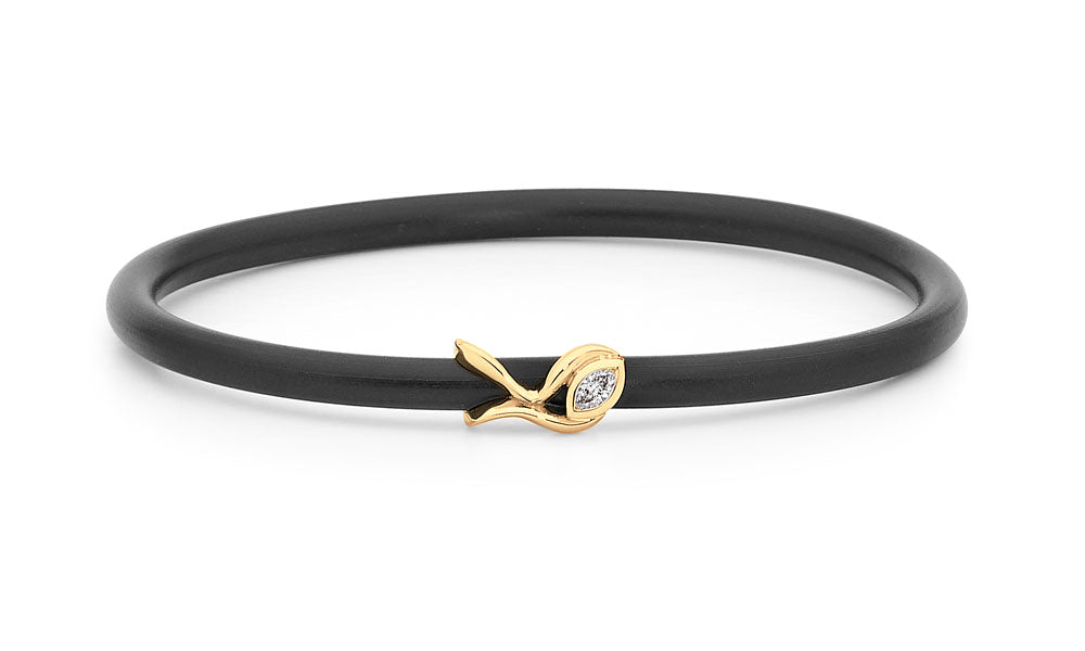 YellowGold Diamond Bangle