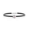 18ct White Gold and Pink Diamond Neoprene