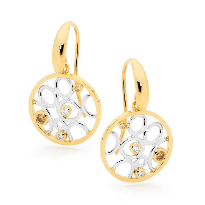 Linneys Signature Circle Earrings