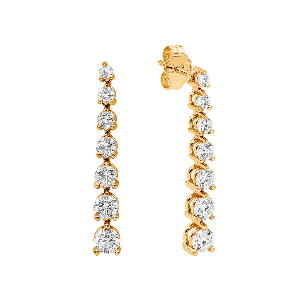 18ct Yellow Gold Diamond Earrings jewellery stores perth perth jewellery stores australian jewellery designers online jewellery shop perth jewellery shop jewellery shops perth perth jewellers jewellery perth jewellers in perth diamond jewellers perth bridal jewellery australia pearl jewellery
