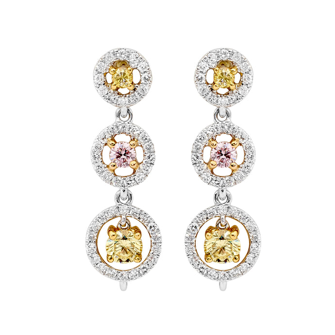 Yellow and Pink Diamond Earrings Perth jewellery stores perth perth jewellery stores australian jewellery designers online jewellery shop perth jewellery shop jewellery shops perth perth jewellers jewellery perth jewellers in perth diamond jewellers perth bridal jewellery australia pearl jewellery australian pearls