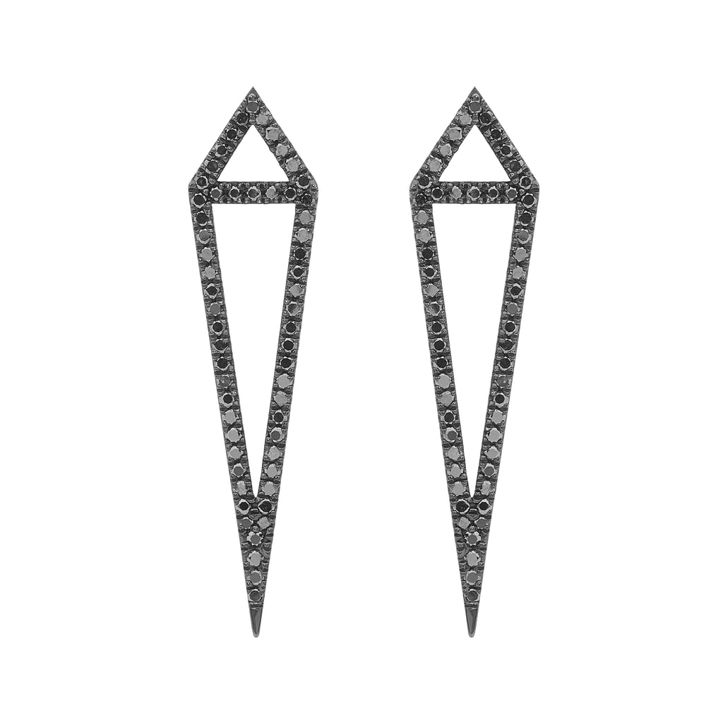 Diamond Kite Earrings