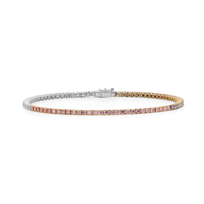 Argyle Diamond Tennis Bracelet