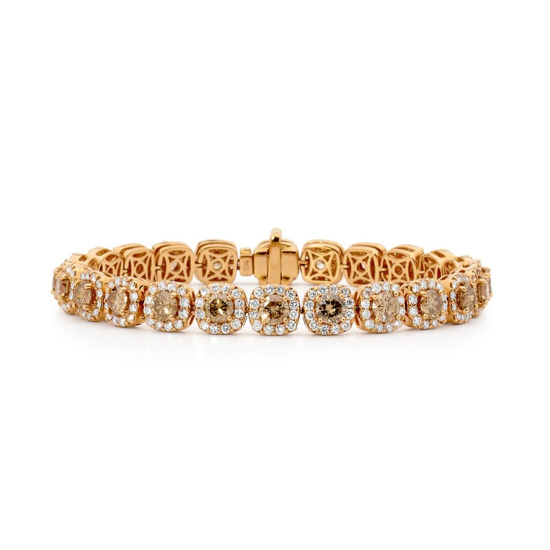 Golden Diamond Bracelet