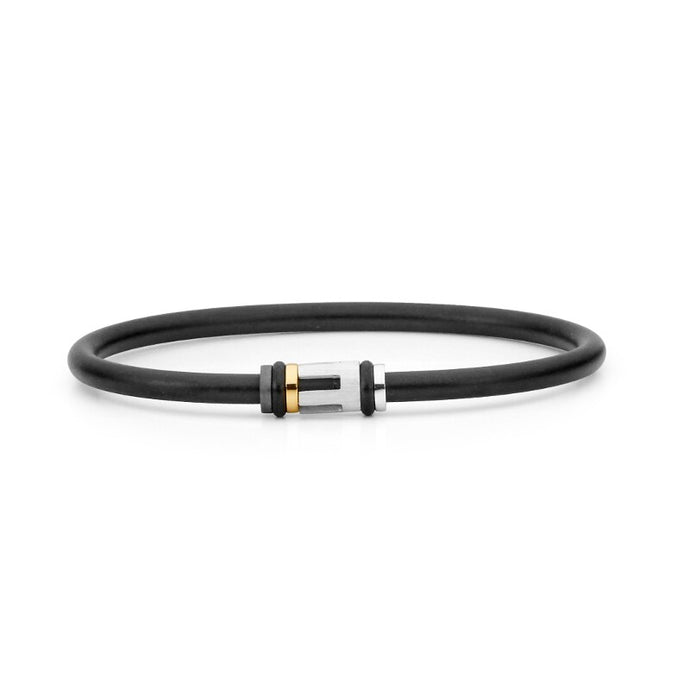Two Tone Neoprene Bangle