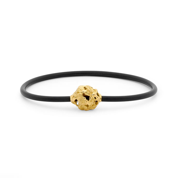 Large Nugget Neoprene Bangle