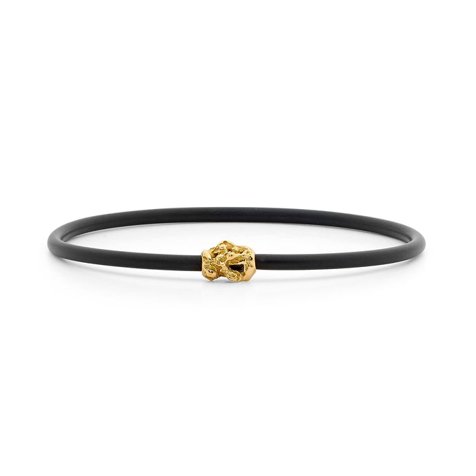 Small Nugget Neoprene Bangle