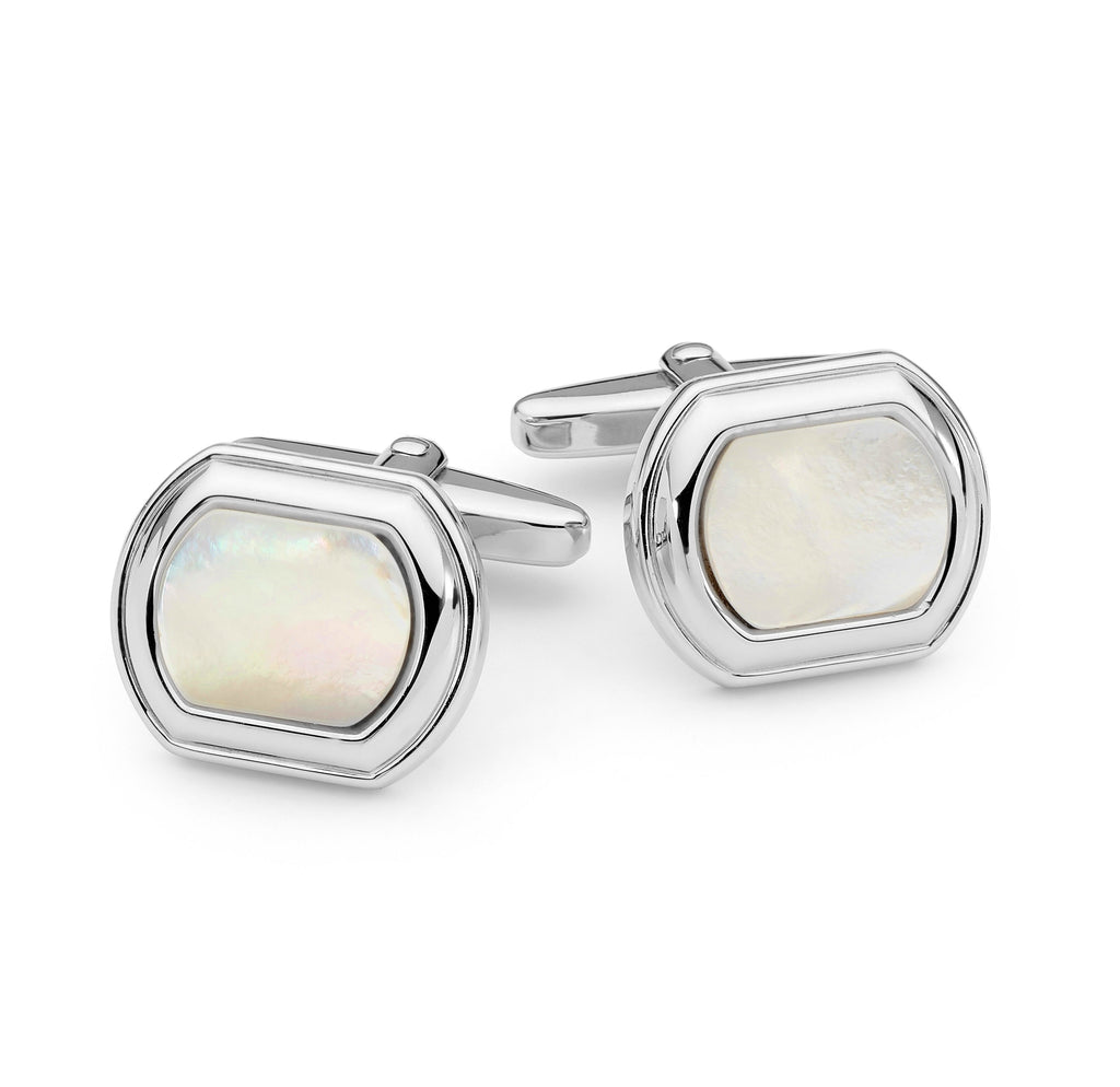 Sterling Silver and Mother of Pearl Cufflinks jewellery stores perth perth jewellery stores australian jewellery designers online jewellery shop perth jewellery shop jewellery shops perth perth jewellers jewellery perth jewellers in perth diamond jewellers perth bridal jewellery australia