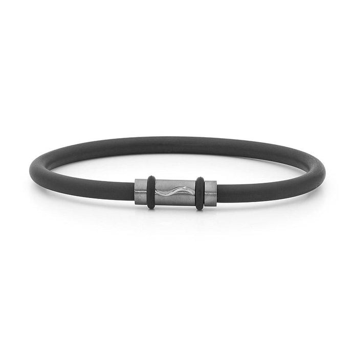 Tantalum Neoprene Bangle