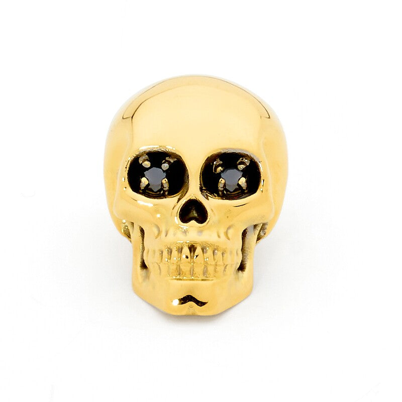 Diamond Skull Pin