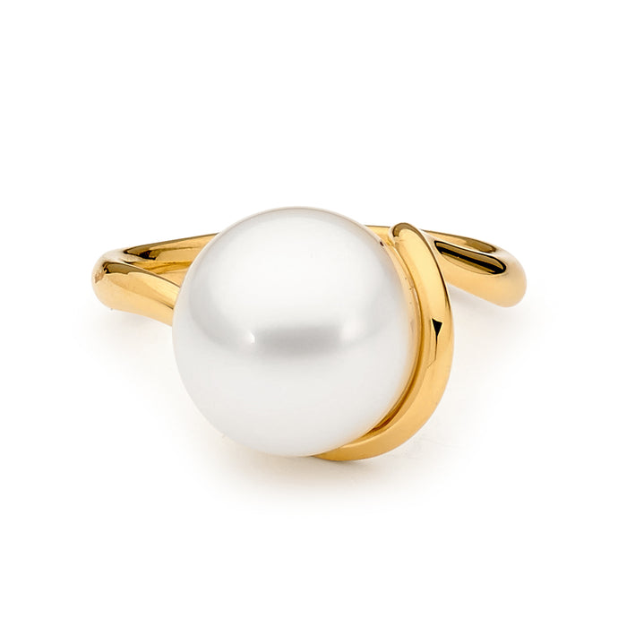 18ct Gold and Pearl Ring