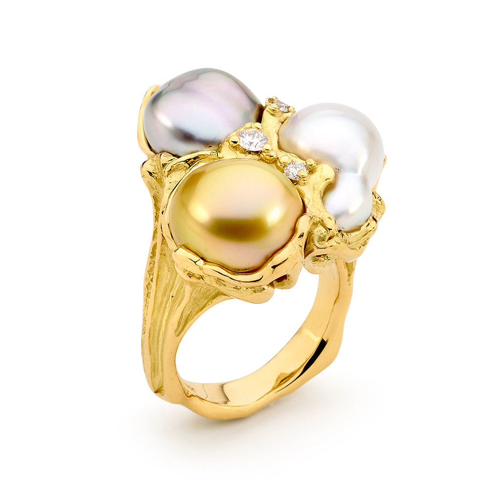 Colours of the Oyster Ring Pearl Rings Perth online jewellery shop perth jewellery stores jewellery stores perth australian jewellery designers designer engagement rings bridal jewellery australia jewellery perth jewellers in perth diamond jewellers perth bridal jewellery australia pearl jewellery australian pearls diamonds and pearls perth engagement rings for women custom engagement rings perth custom made engagement rings perth diamond engagement rings pearl jewellery