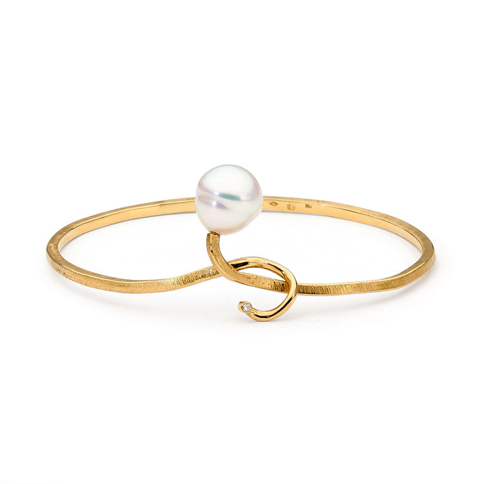 gold pearl bracelet perth