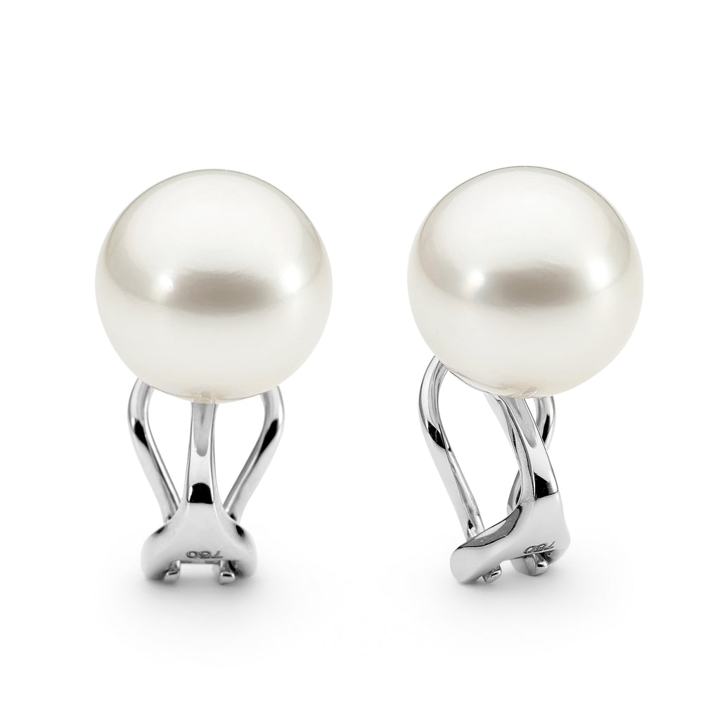 Australian South Sea pearl clip-on earrings