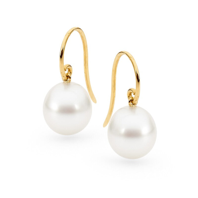 Fine French Hook Pearl Earrings