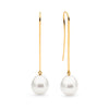 18ct Gold & Pearl Earrings