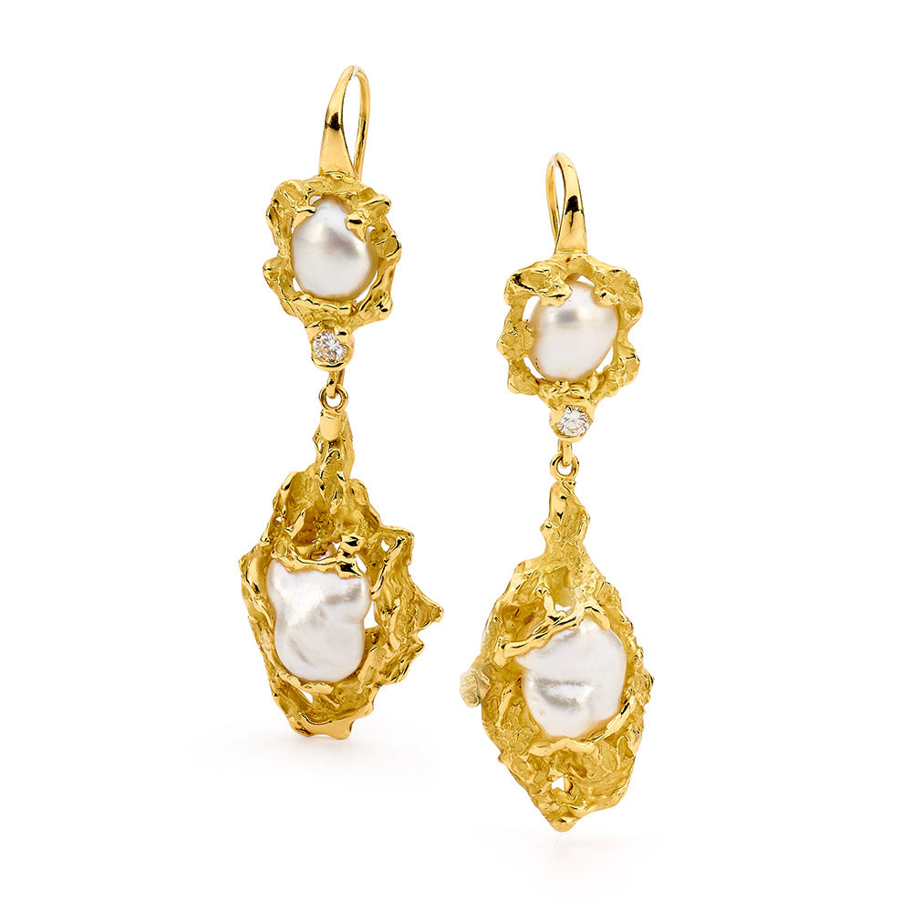 Kimberly Coast Australian Pearl Earrings online jewellery shop buy jewellery online jewellers in perth perth jewellery stores wedding jewellery australia diamonds for sale perth gold jewellery perth  diamonds perth pearl jewellery