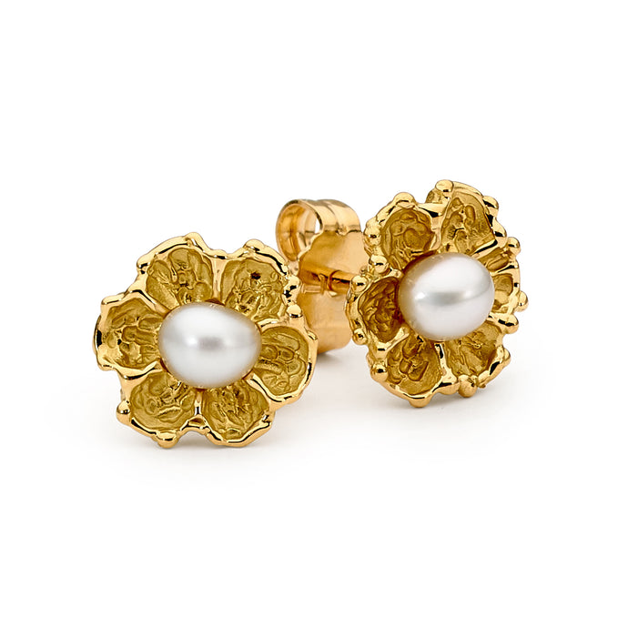 18ct Gold and Pearl Earrings