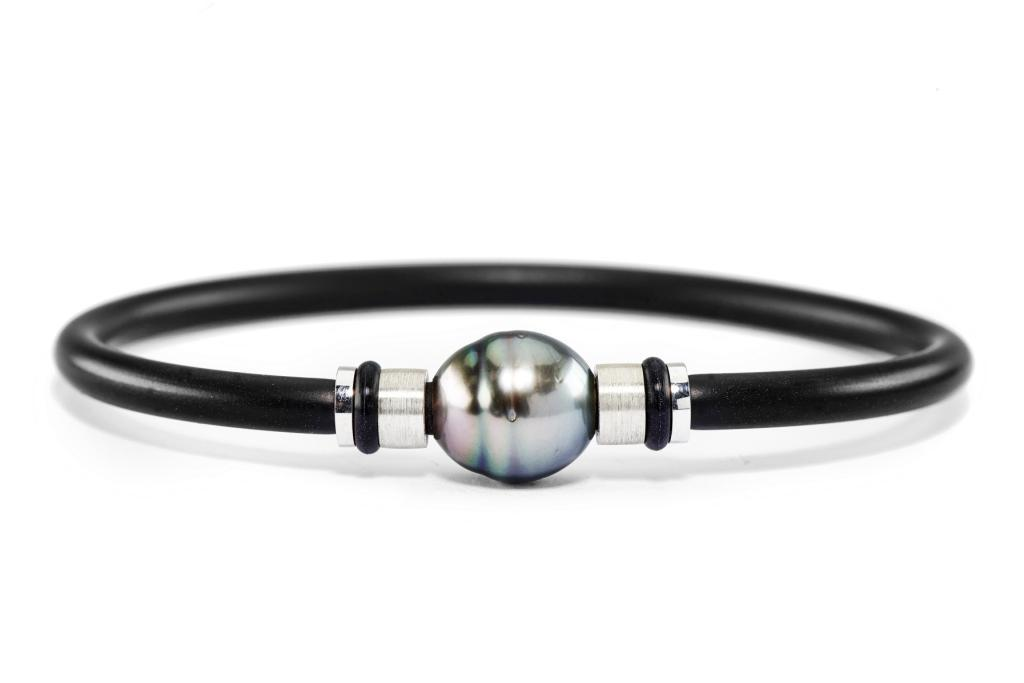 Tahitian South Sea Circle Pearl Silver