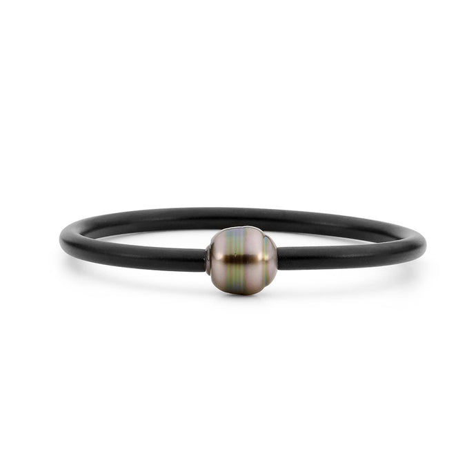 Tahitian South Sea pearl Neoprene bangle
