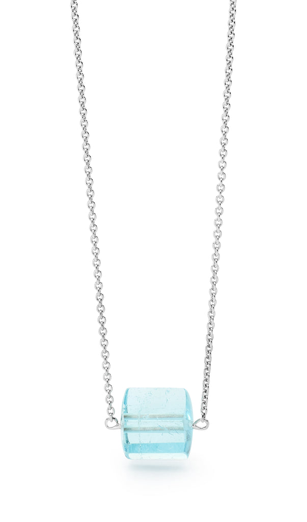 Aquamarine Necklet