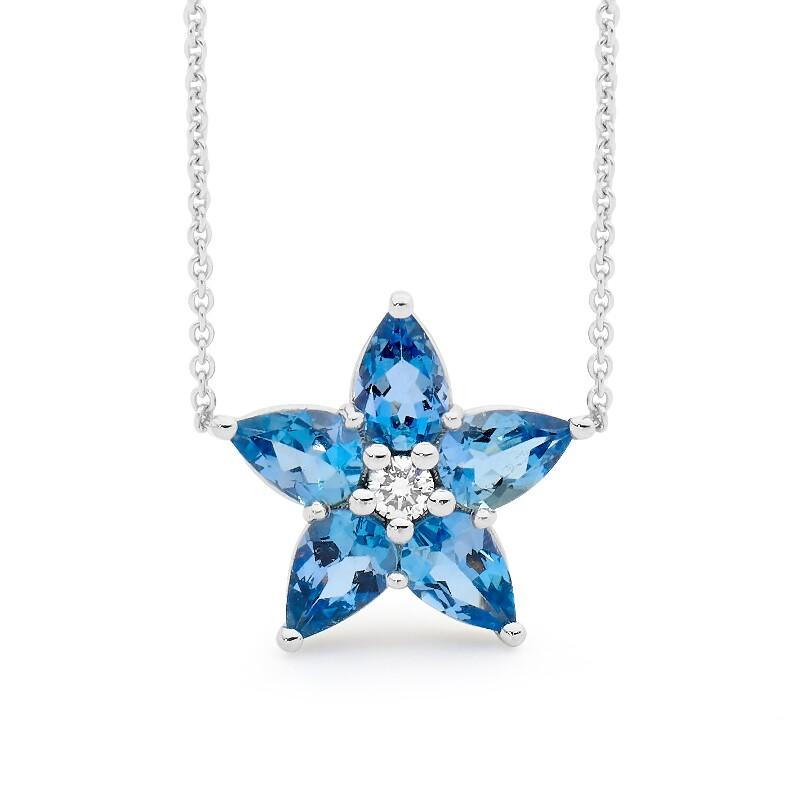 Star of Aquarius Pendant perth jewellery stores australian jewellery designers online jewellery shop perth jewellery shop jewellery shops perth perth jewellers jewellery perth jewellers in perth diamond jewellers perth bridal jewellery australia