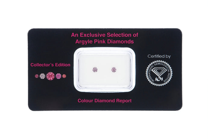 Fancy Purplish Pink Argyle Diamonds