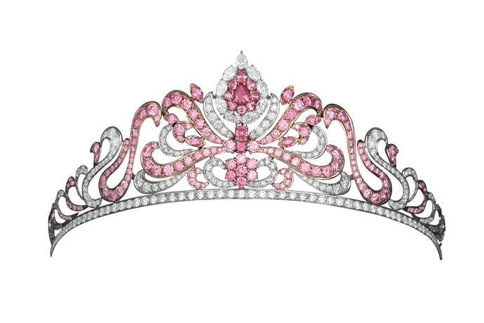 Argyle Pink Diamond Tiara