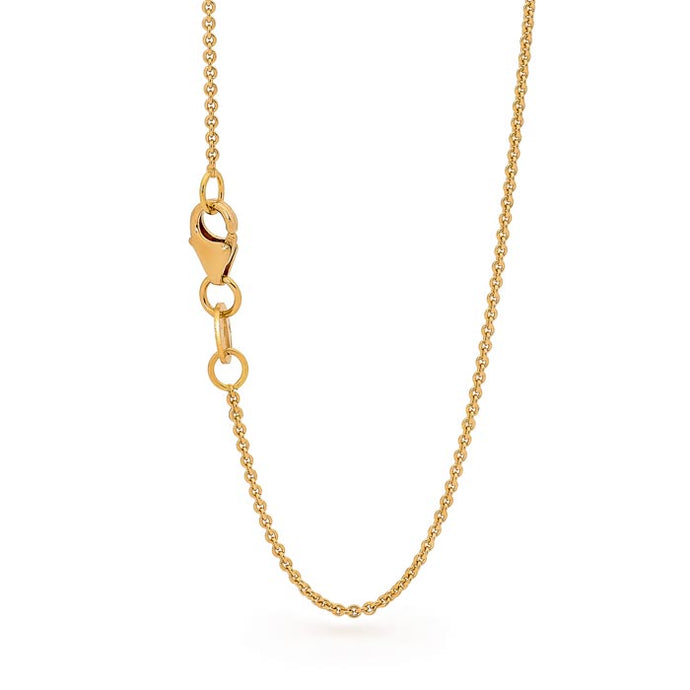 18ct Gold Trace Chain