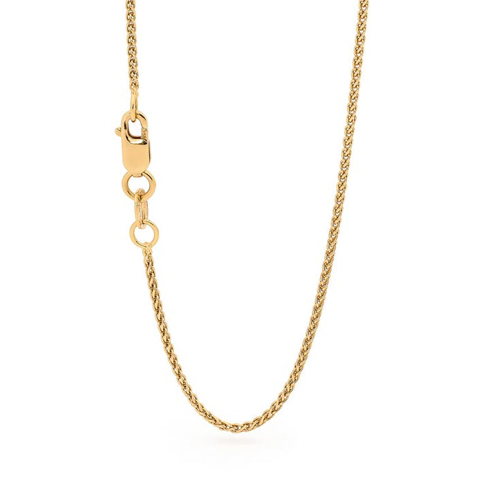 18ct Rose Gold Foxtail Chain Perth